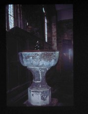 1 York, Holy Trinity, the Font.