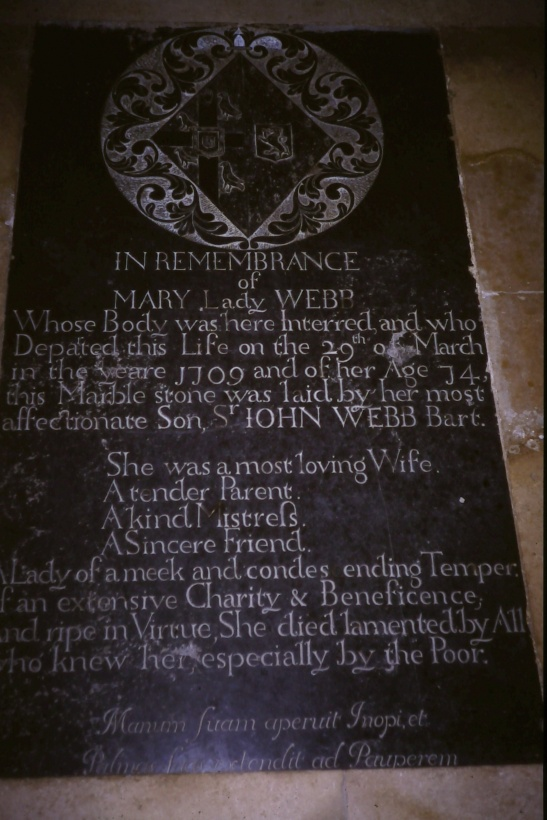 Hatherop Parish Church - Webb Memorial
