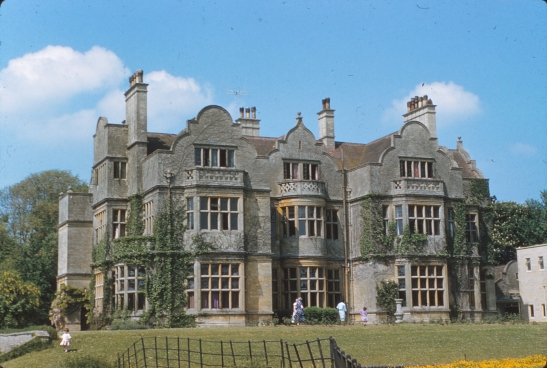TRANSPARENCIES 1959 6 St Clotilde back of Lechlade Manor.jpg